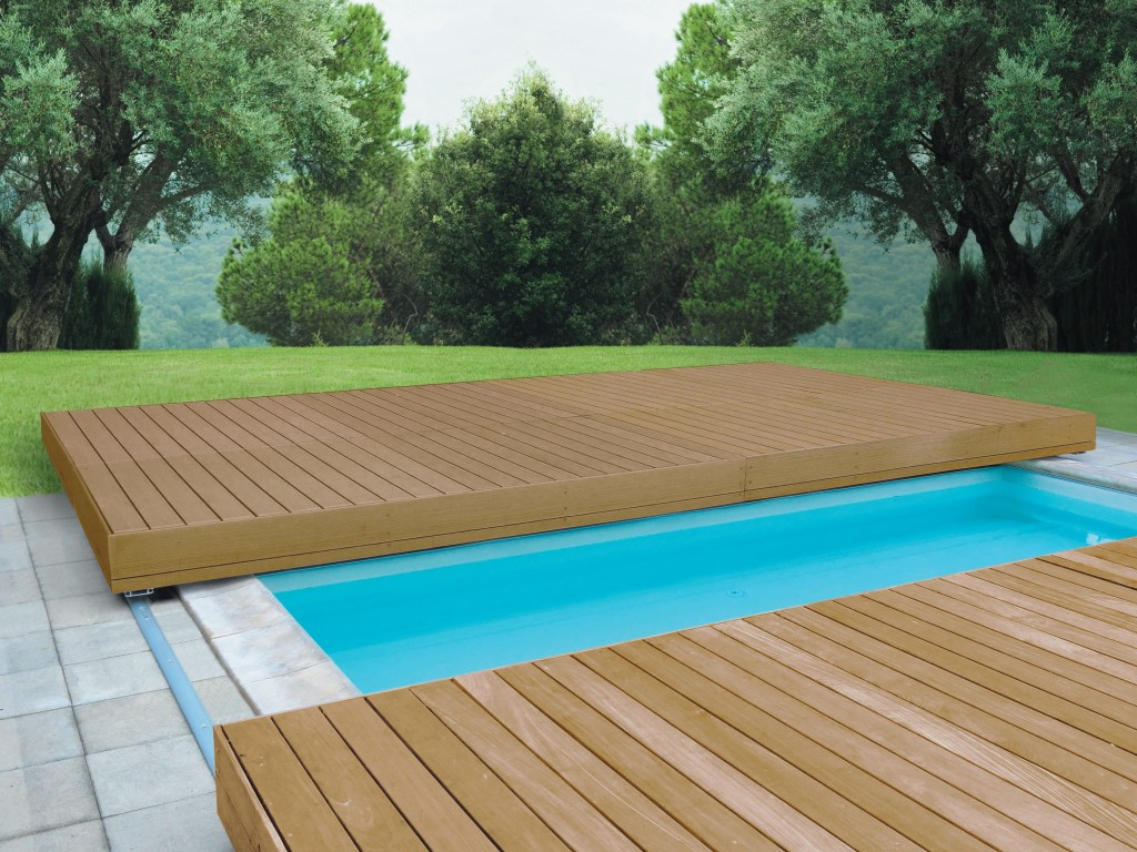 Acoperire scunde walu deck - Covering a swimming pool with decking ...