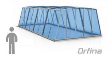 Acoperire piscina Orfea
