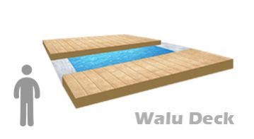Acoperire piscina Walu DECK