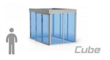 Acoperiri pentru terase Cube